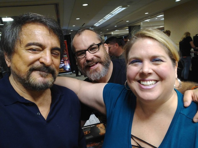 Quick Selfie with Tom Savini